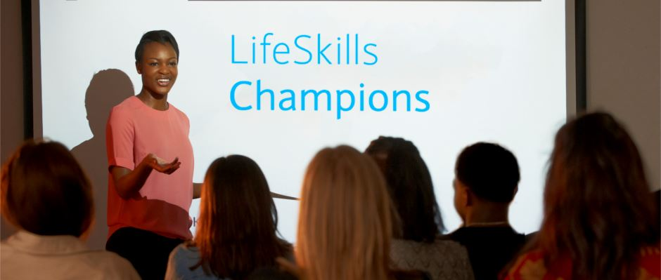 Help young people help others through LifeSkills Champions