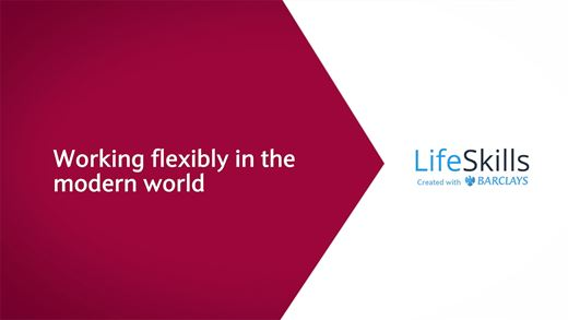 What are the different types of flexible working?
