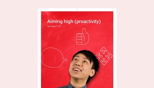 Aiming high (proactivity)
