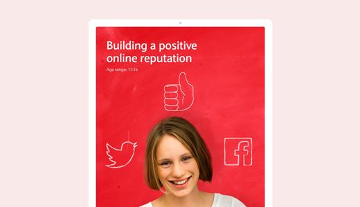 Building a positive online reputation