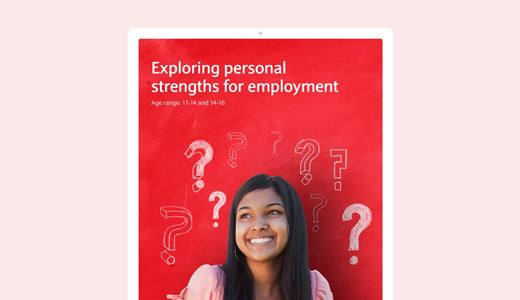 Exploring personal strengths for employment lesson