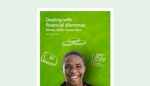 Money skills lesson four: Dealing with financial dilemmas