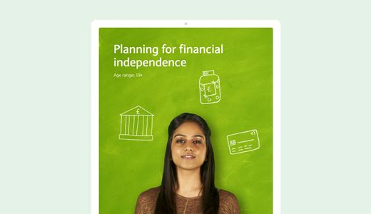 Planning for financial independence lesson