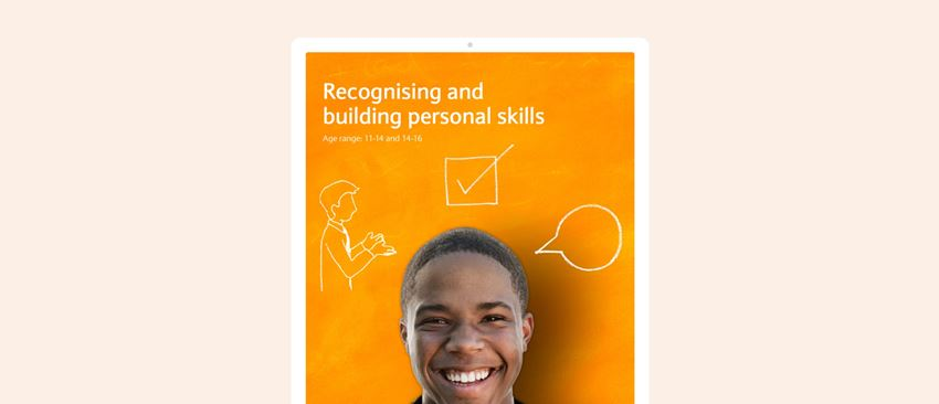Recognising and building personal skills lesson