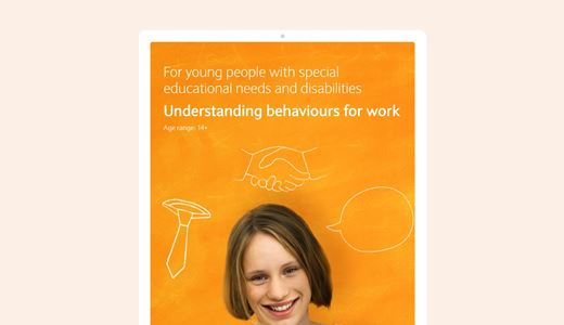 SEND Understanding behaviours for work lesson