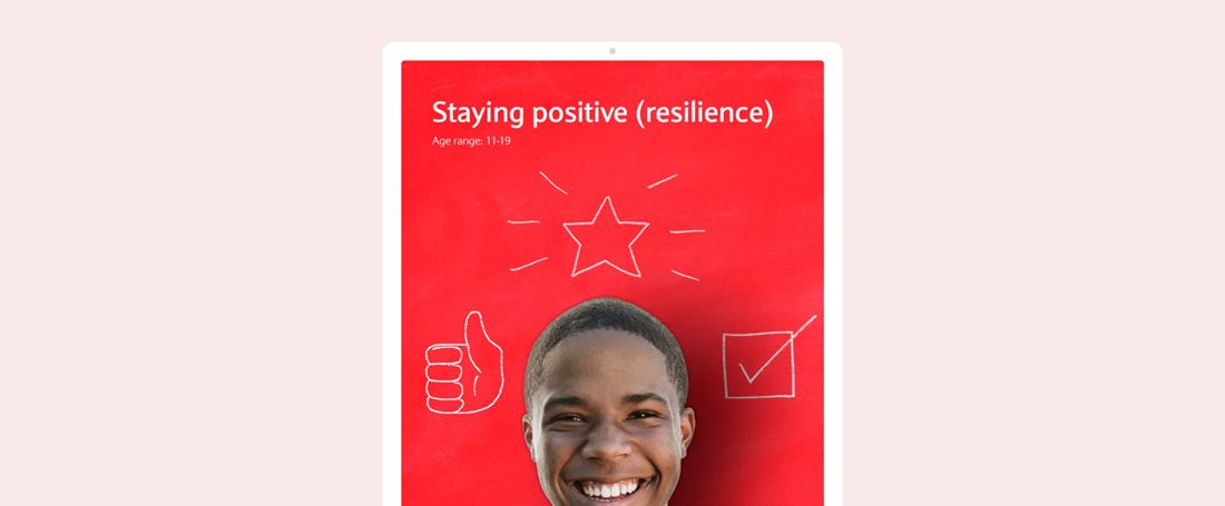 Staying positive (resilience)