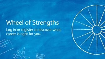 Wheel of strengths; What career is right?